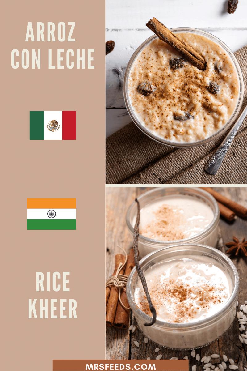 Arroz con leche Resemble Rice Kheer
