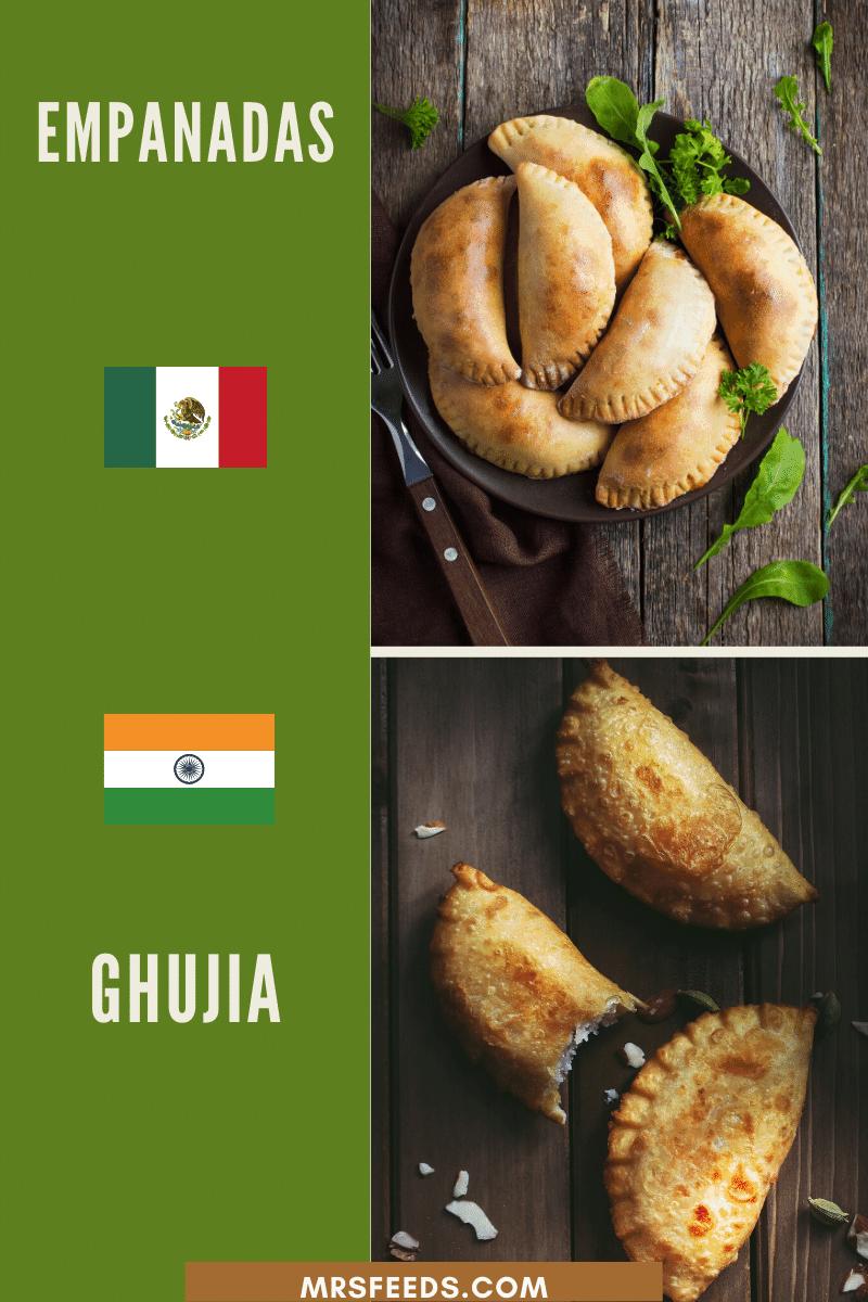 Empanadas Resembles Ghujias in Look