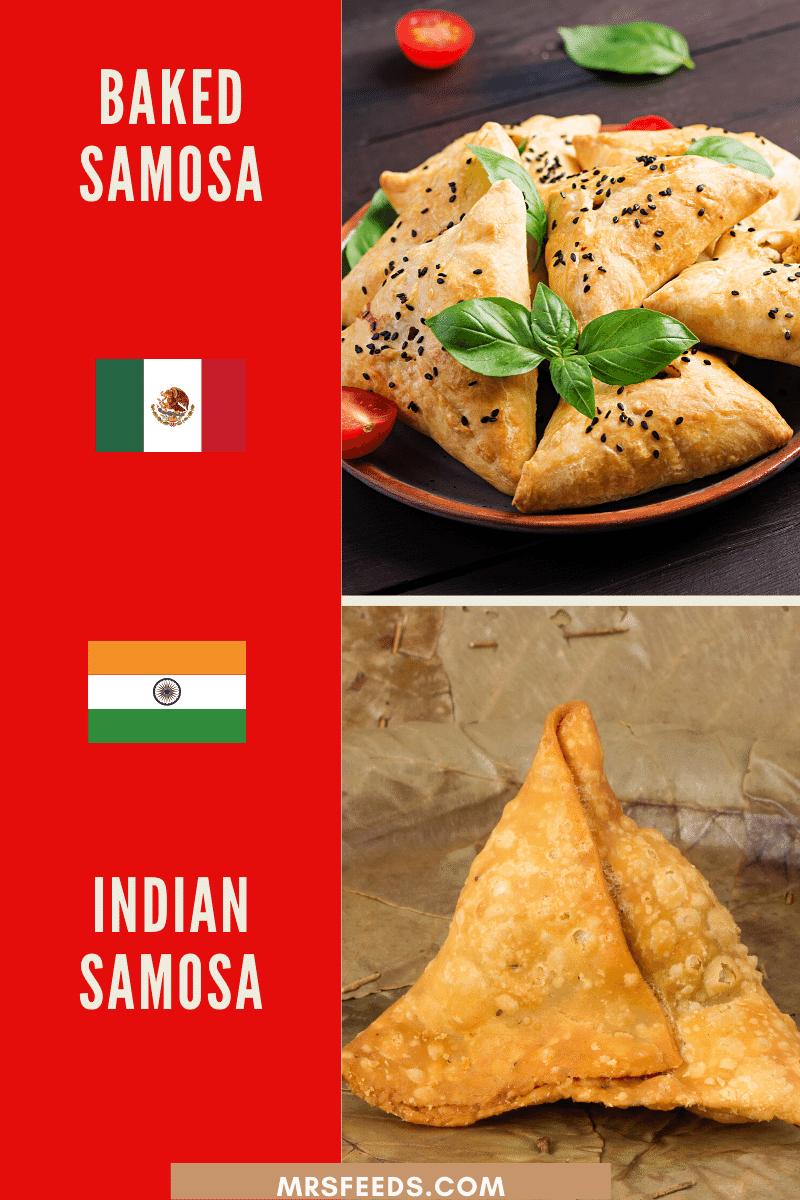 Mexican Samosa Resembles Indian Samosa