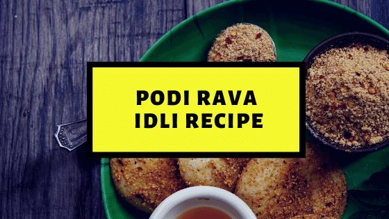 Preparing Podi Rava Idlis in a Microwave