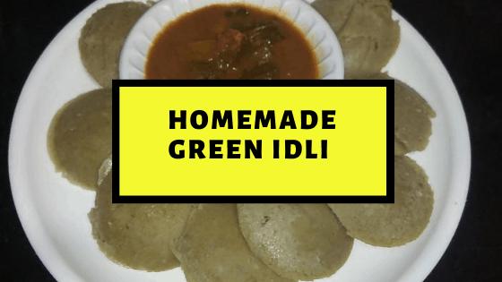 Homemade Green Idli – Flavorsome Breakfast