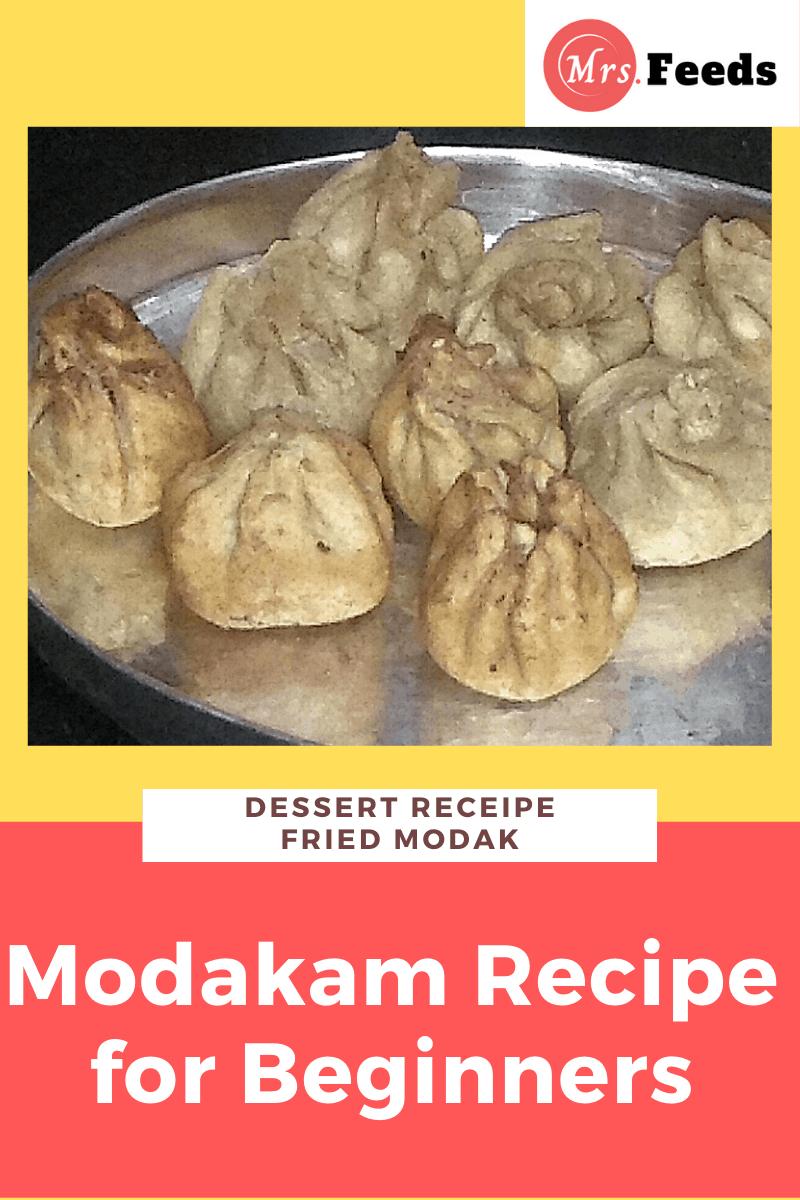 Modakam Recipe for Beginners